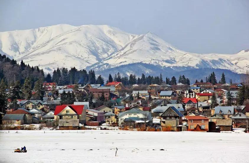 Bakuriani Ski Resort In Georgia Winter Holidays In The Mountains Of Georgia